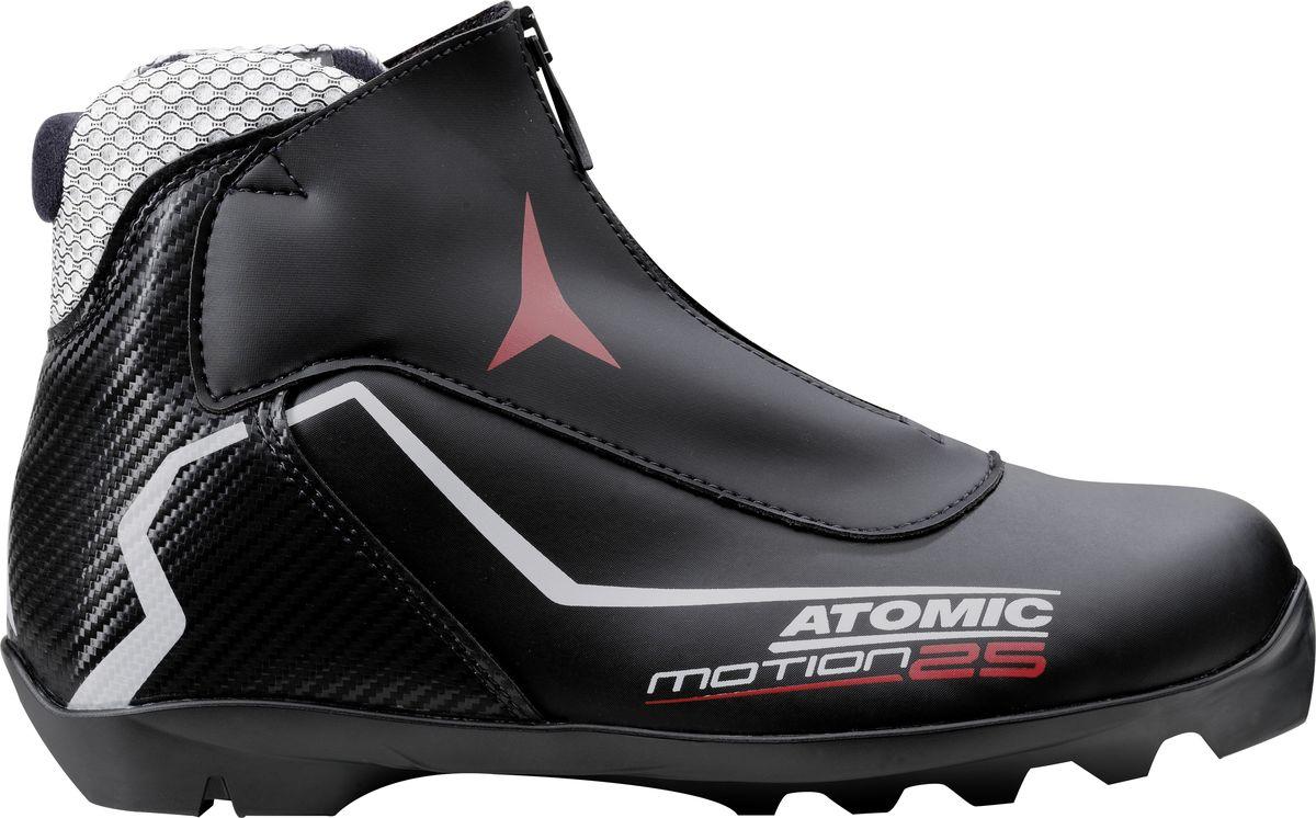 Ботинки лыжные мужские Atomic Motion 25, цвет: черный. Размер 12 (47) ботинки лыжные larsen technic thinsulate nnn