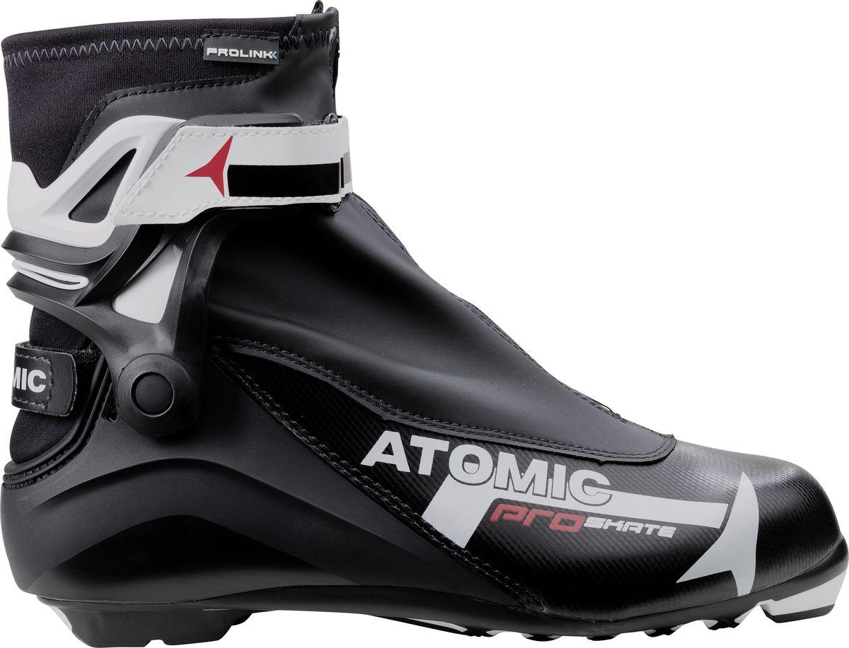 все цены на Ботинки лыжные мужские Atomic Pro Skate, цвет: черный. Размер 12,5 (47,5) онлайн