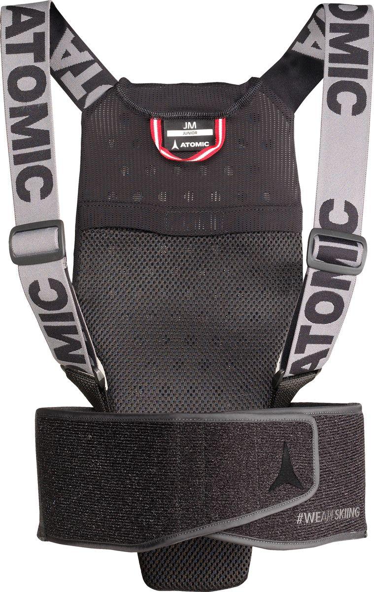 Защита спины Atomic Live Shield Jr, цвет:  черный.  Размер M (48) Atomic
