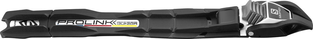Крепления для беговых лыж Salomon Prolink Access Jr, цвет: черный ботинки для беговых лыж salomon escape 6x prolink цвет черный размер 9 5 42 5