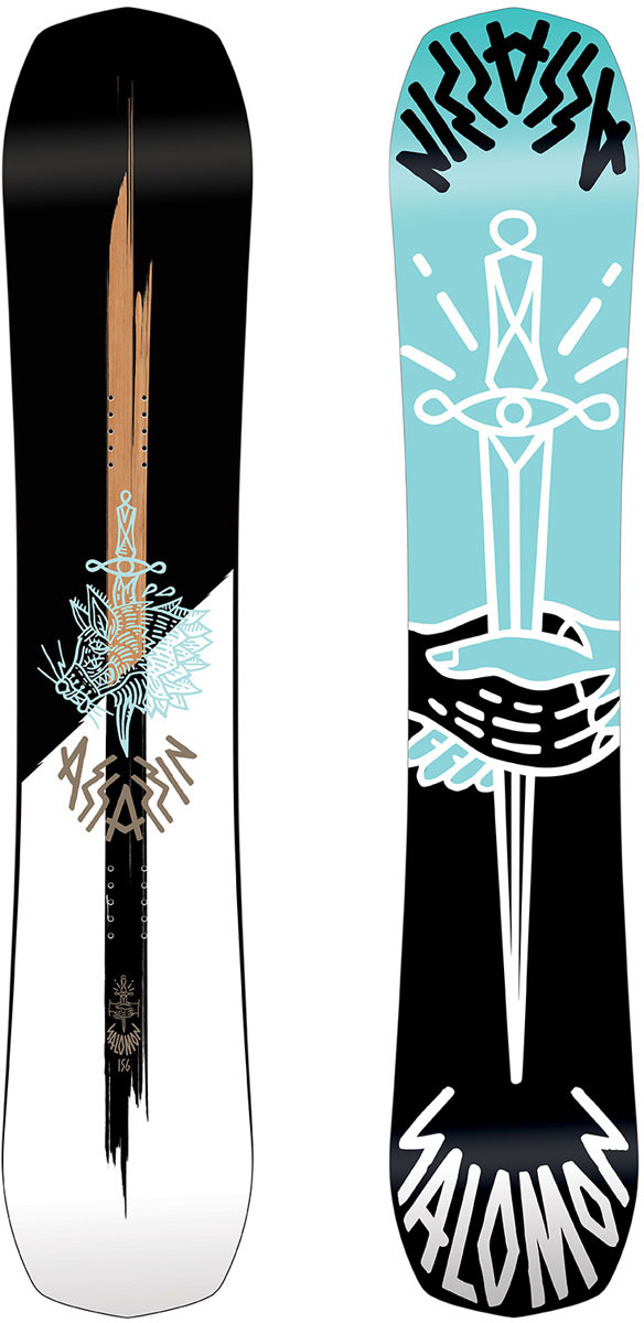 Сноуборд Salomon Assassin, цвет: черный, рост 158 см