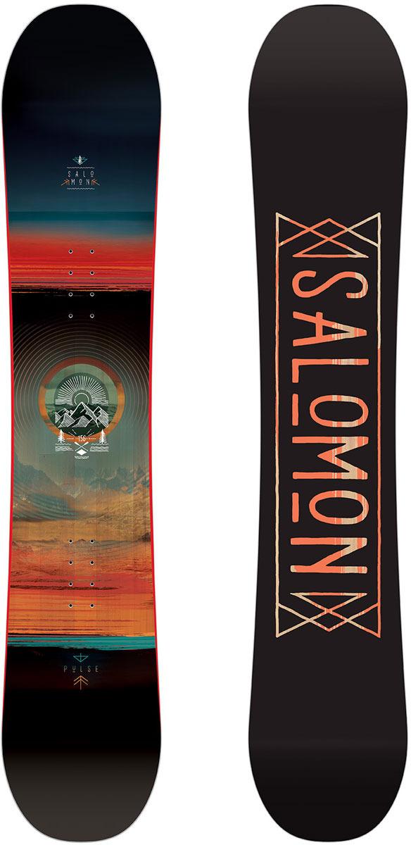 Сноуборд Salomon Pulse, цвет: черный, рост 142 см free shipping 2pcs lot 35mm right angle belt nut pulse valve dmf 25dd ac220v