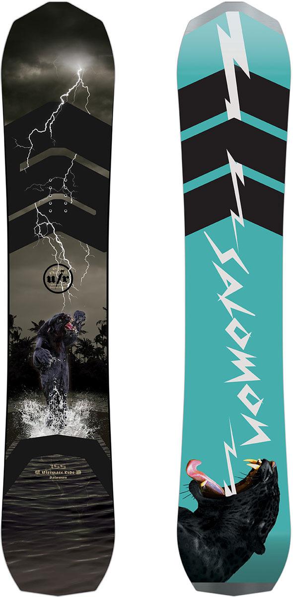 Сноуборд Salomon Ultimate Ride, цвет: черный, рост 161 см воланы для бадминтона adidas d training 79 перо быстрая скорость
