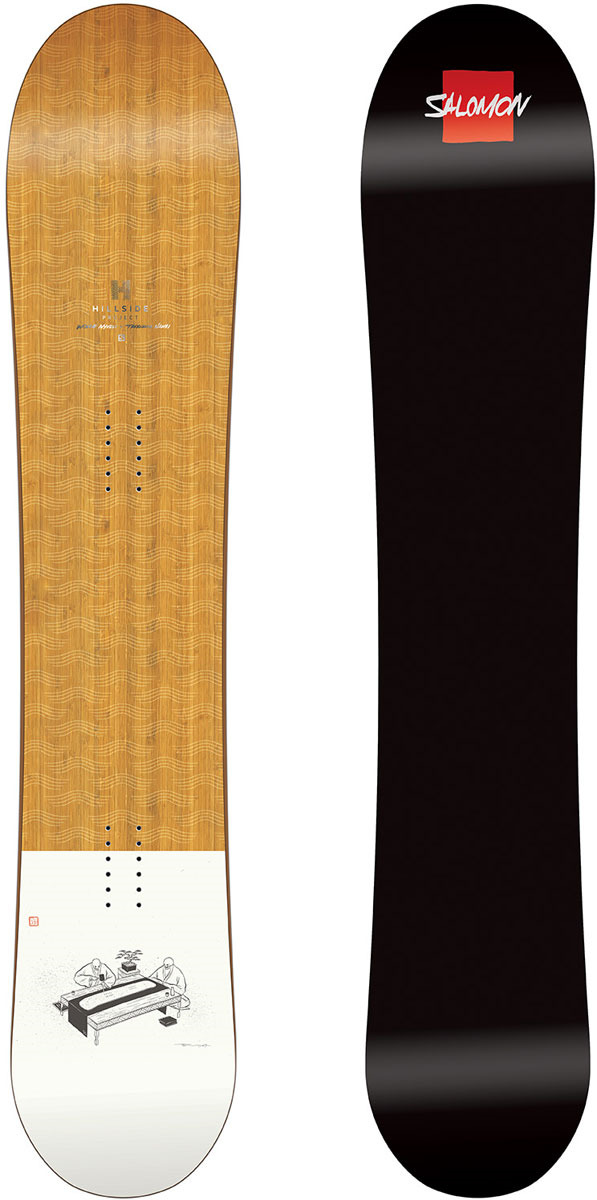 Сноуборд Salomon Taka, цвет: коричневый, рост 158 см