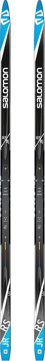 Лыжи беговые Salomon RS Junior цвет: черный, рост 126 см salomon беговые лыжи salomon equipe 8