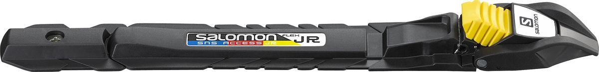 Крепления для беговых лыж Salomon SNS Access Junior, цвет: черный крепления для беговых лыж salomon sns pilot combi цвет черный l3545460001