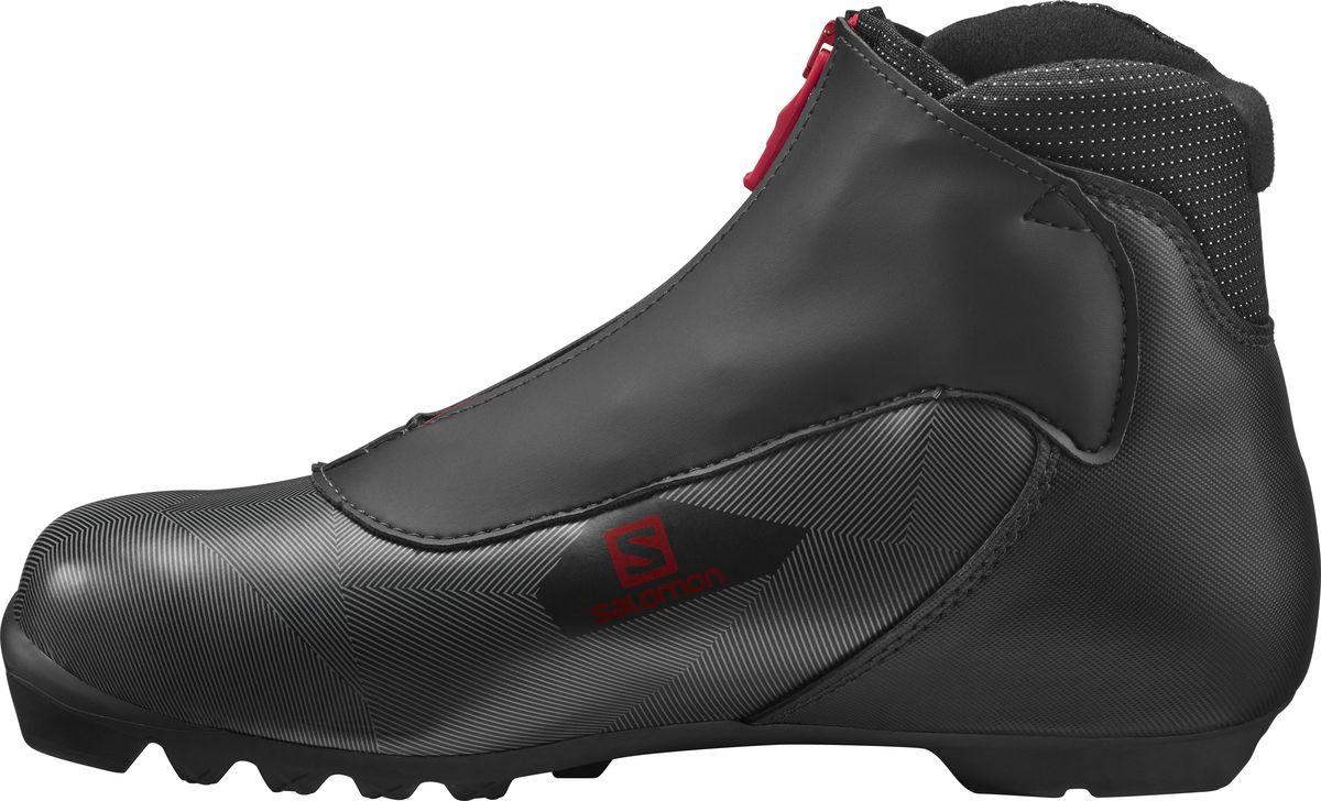 Ботинки лыжные мужские Salomon Escape 5 Prolink, цвет: черный. Размер 12 (46) ботинки для беговых лыж salomon escape 6x prolink цвет черный размер 9 5 42 5
