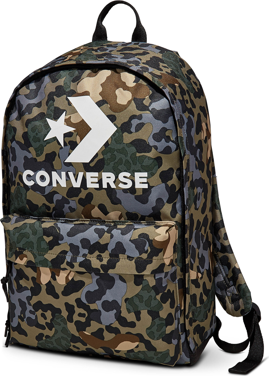 Рюкзак Converse EDC 22, цвет: зеленый. 10007032039 рюкзак городской converse edc poly backpack цвет черный 10003329001