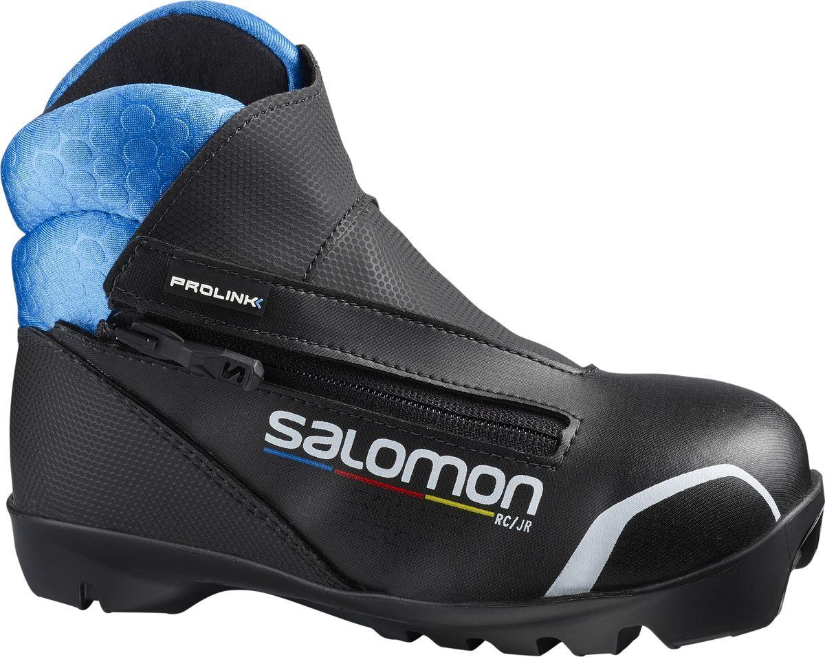 Ботинки лыжные Salomon RC Prolink Jr, цвет: черный. Размер 4 (23,5) ботинки лыжные мужские salomon escape 7 prolink цвет черный размер 8 5 41