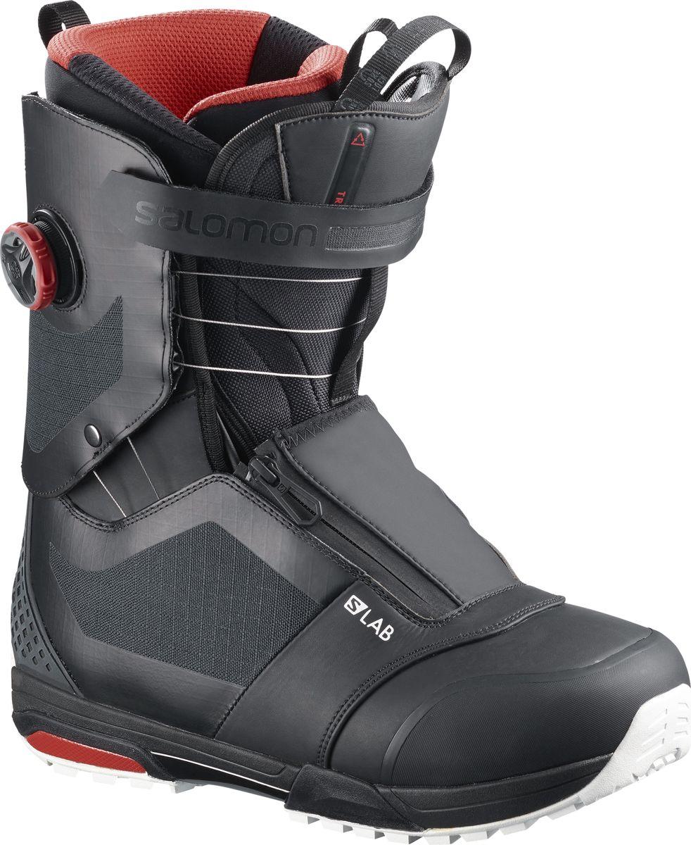 Ботинки для сноуборда мужские Salomon Trek S/Lab, цвет: черный. Размер 45