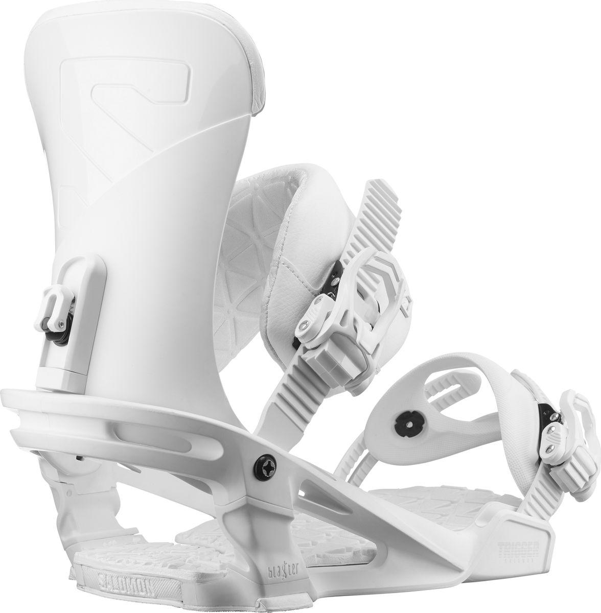 Разработанные для Криса Гренье (Chris Grenier), который даже из минипайпа готов вырваться в стратосферу, крепления Trigger оснащены технологией Blaster- интуитивной системой соединения для фристайла и джиббинга, созданной для работы в качестве динамической подвески, гасящей удары и обеспечивающей плавное катание с большей степенью свободы боковых движений. Крепления имеют все необходимое: базовую пластину Blaster, стрепы 3D Prime, передние стрепы Lock-In Deluxe, систему трещотки MP и новый анатомический хайбэк, разработанный для таких мастеров, как Грендис.