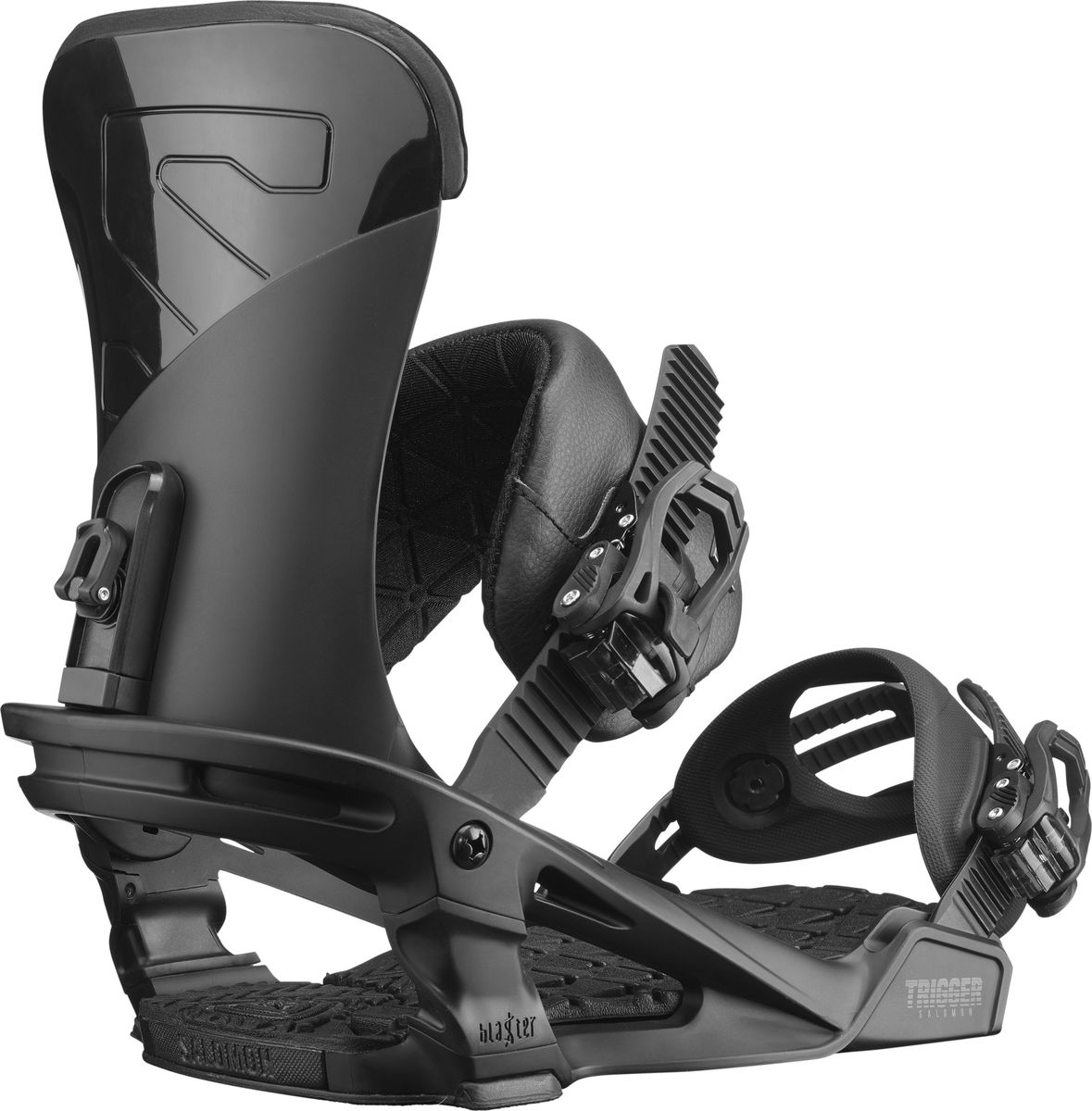 Крепления для сноуборда Salomon Trigger, цвет: черный. Размер L (44-50)