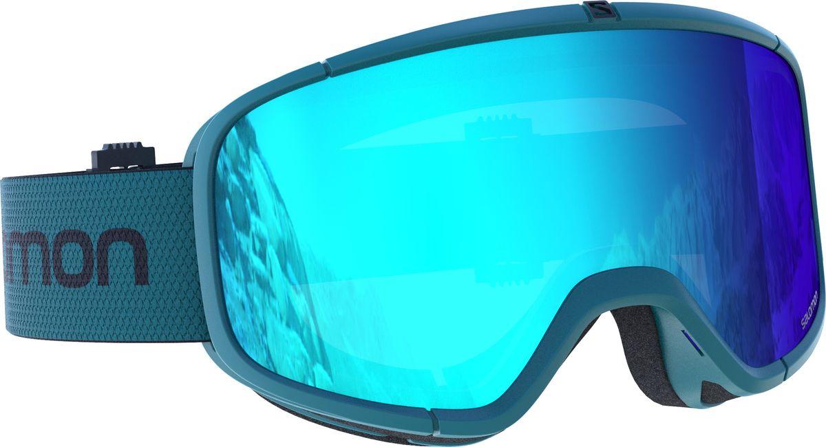 Маска горнолыжная Salomon Four Seven Hawai, цвет: голубой цены онлайн