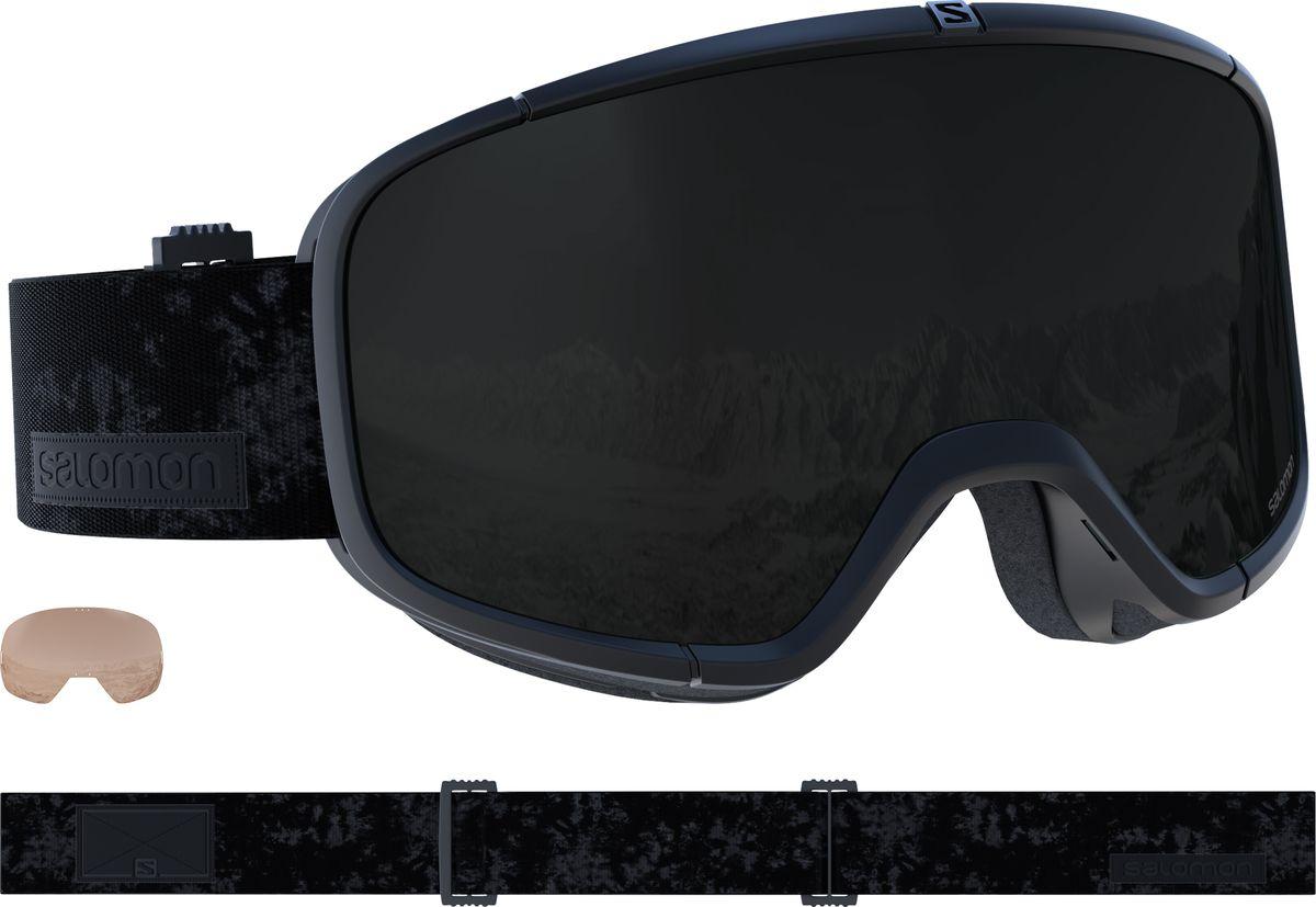 Маска горнолыжная Salomon Four Seven Xtra Lens, цвет: черный цены онлайн