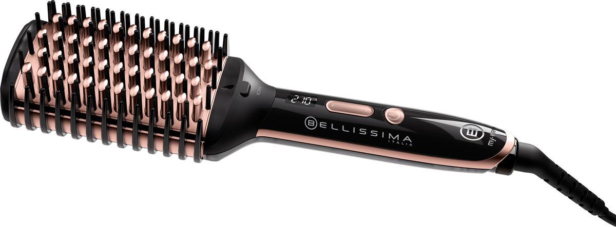 Термощетка Imetec Bellissima 11539, цвет: черный imetec bellissima 11508 термощетка выпрямитель для волос