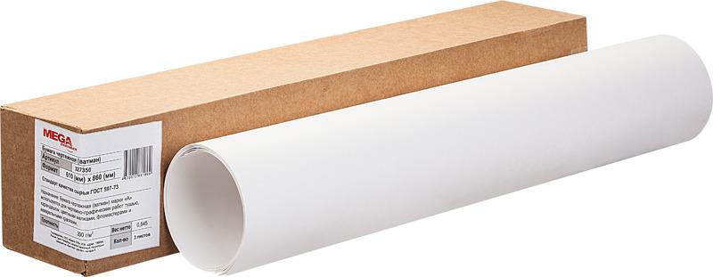 Бумага для чертения Mega Engineer, 61 х 86 см, цвет: белый, 3 листа