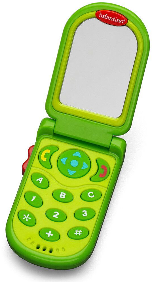 Развивающая игрушка Infantino Зеленый телефон телефон