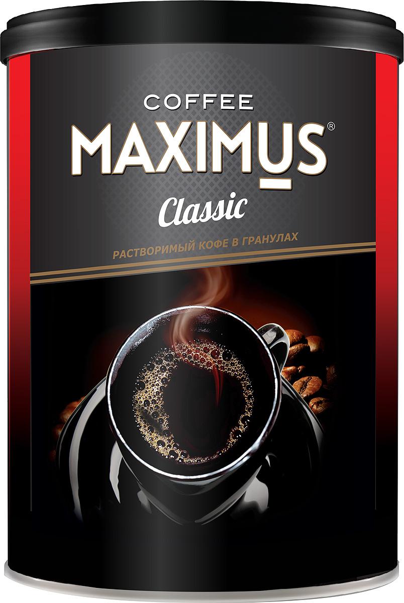 Кофе растворимый гранулированный Maximus Classic, 200