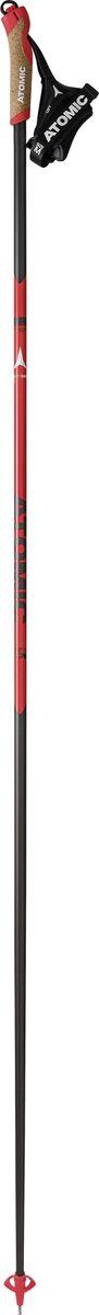 Палки лыжные Atomic Redster Carbon Ultra, цвет: красный, длина 160 см