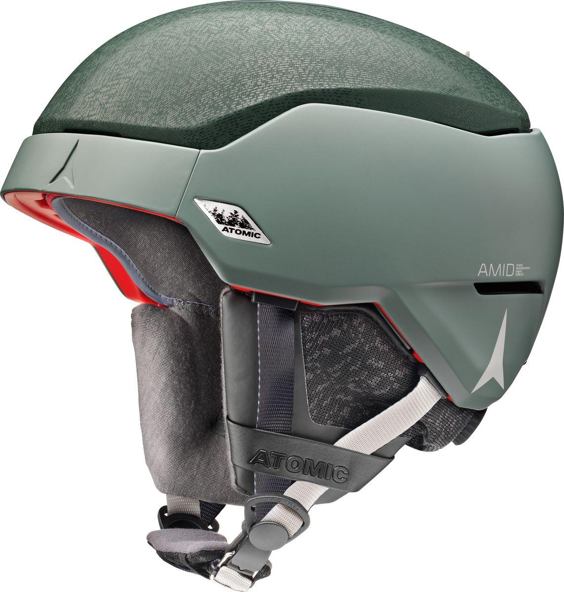 Шлем горнолыжный Atomic Count Amid, цвет: зеленый. Размер L (59-62)