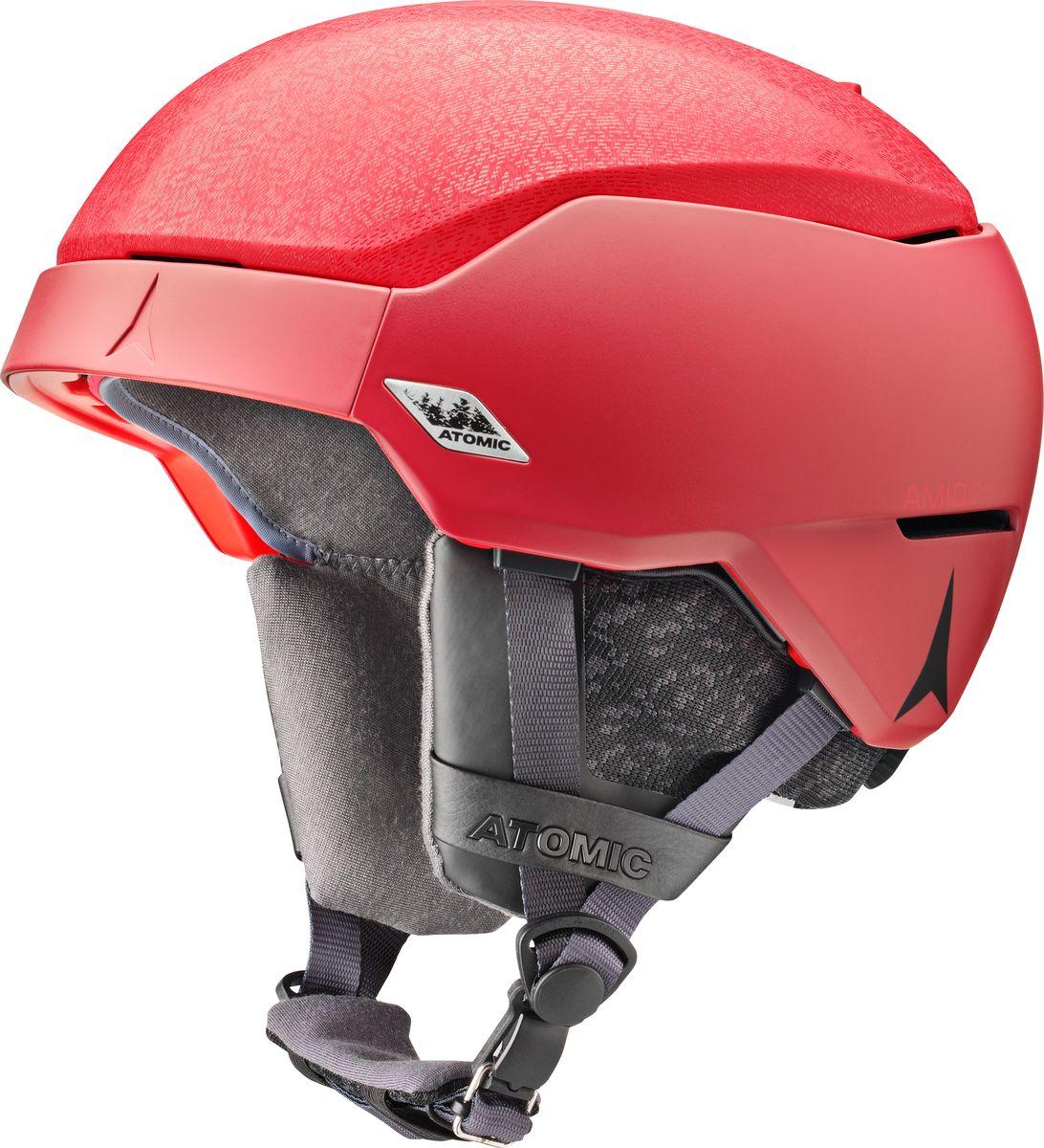 Шлем горнолыжный Atomic Count Amid, цвет: красный. Размер M (56-59)