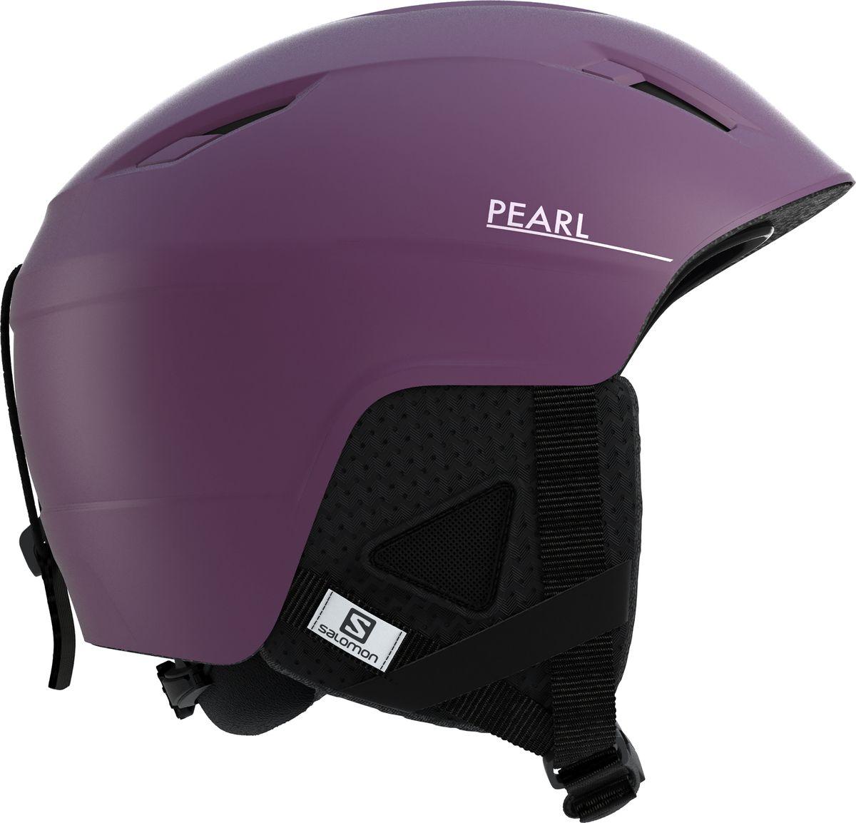 Шлем горнолыжный Salomon Pearl2+ Fig, цвет: фиолетовый. Размер M (56-59)