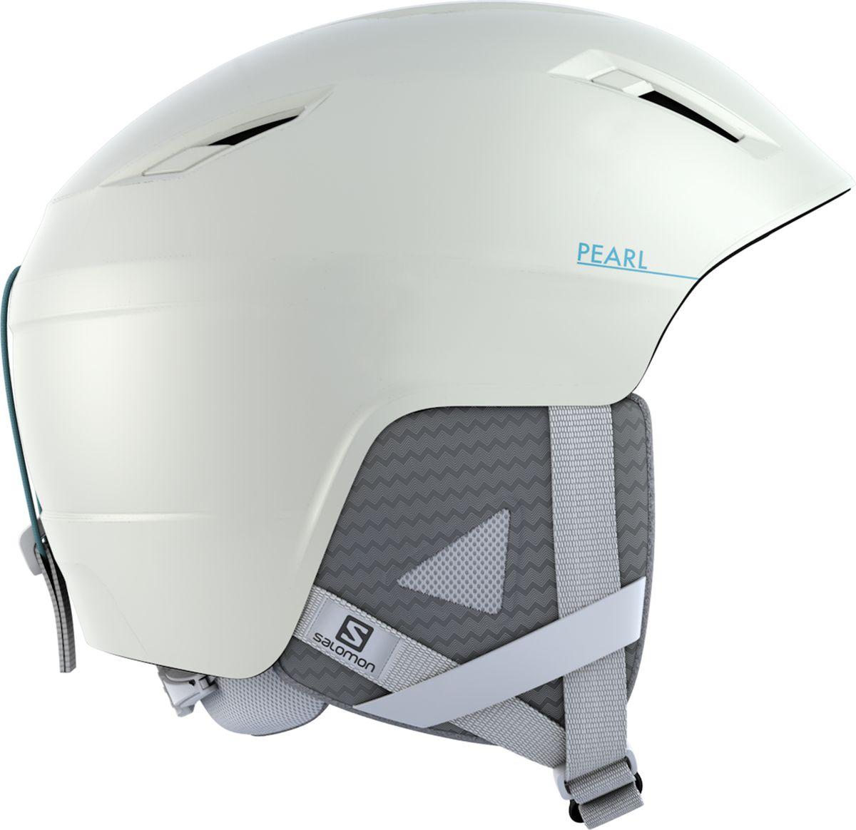 Шлем горнолыжный Salomon Pearl2+, цвет: белый. Размер M (56-59)