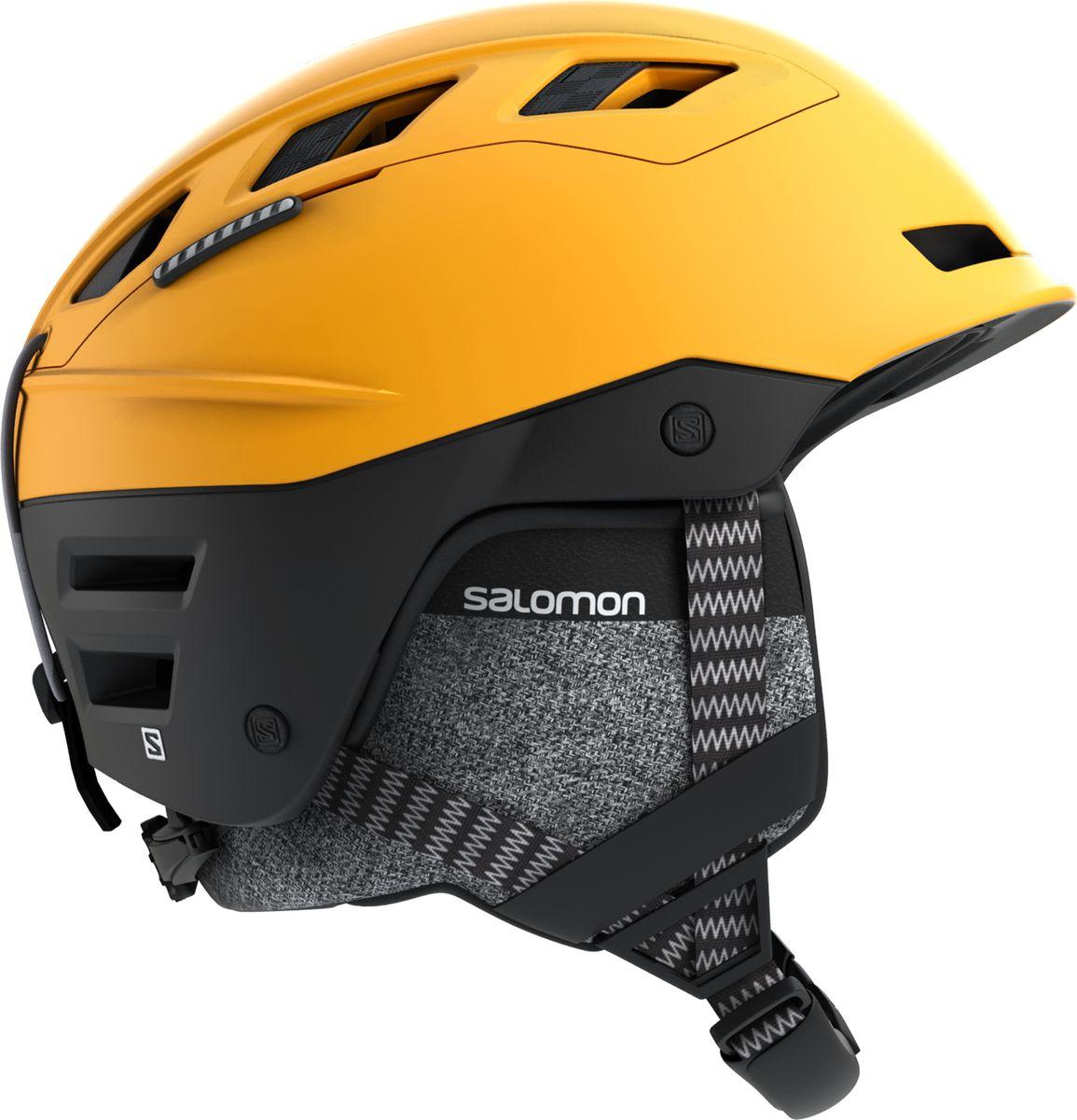 Шлем горнолыжный Salomon QST Charge, цвет: желтый. Размер L (59-62)