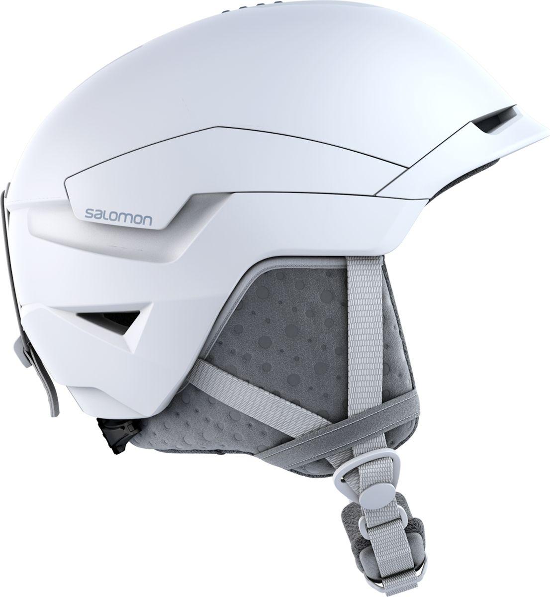 Шлем горнолыжный Salomon Quest Access W, цвет: белый. Размер M (56-59)