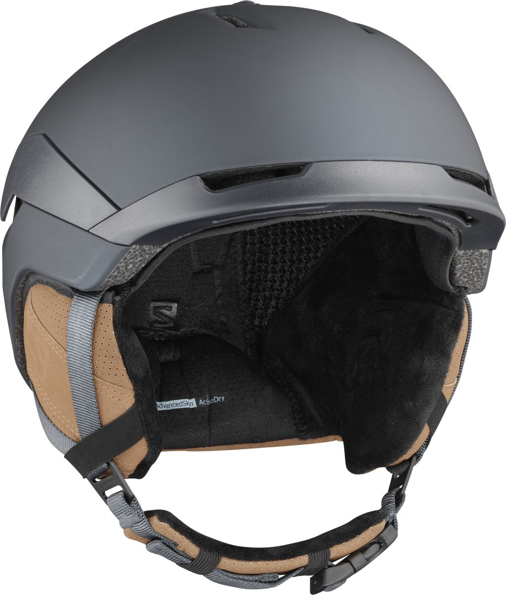 Шлем горнолыжный Salomon Quest, цвет: синий. Размер L (59-62)