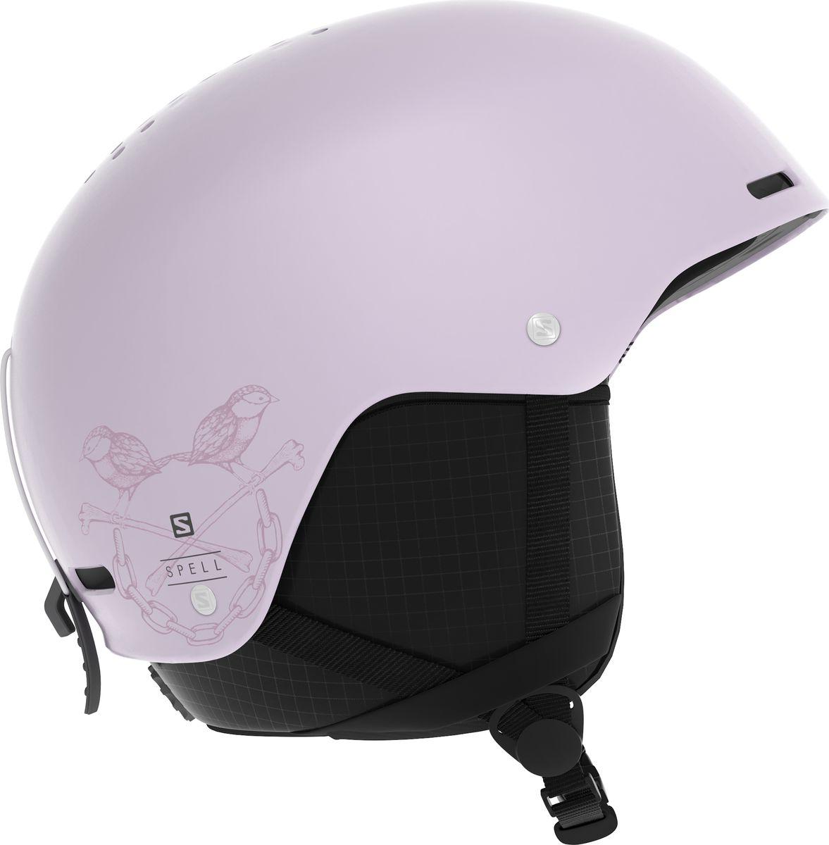 Шлем горнолыжный Salomon Spell, цвет: розовый. Размер S (53-56)