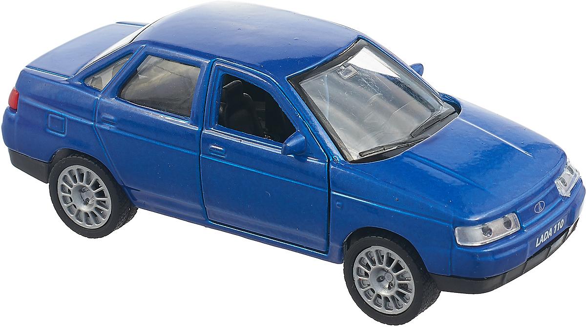 Технопарк Машинка инерционная Lada 110 цвет синий micocah синий цвет