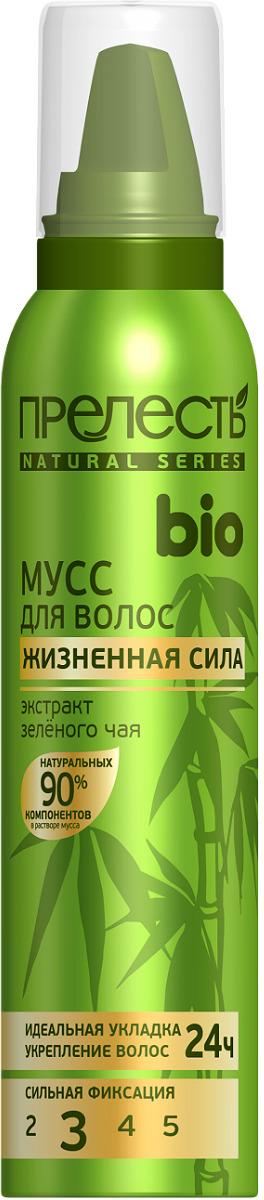 Мусс для укладки волос Прелесть Bio