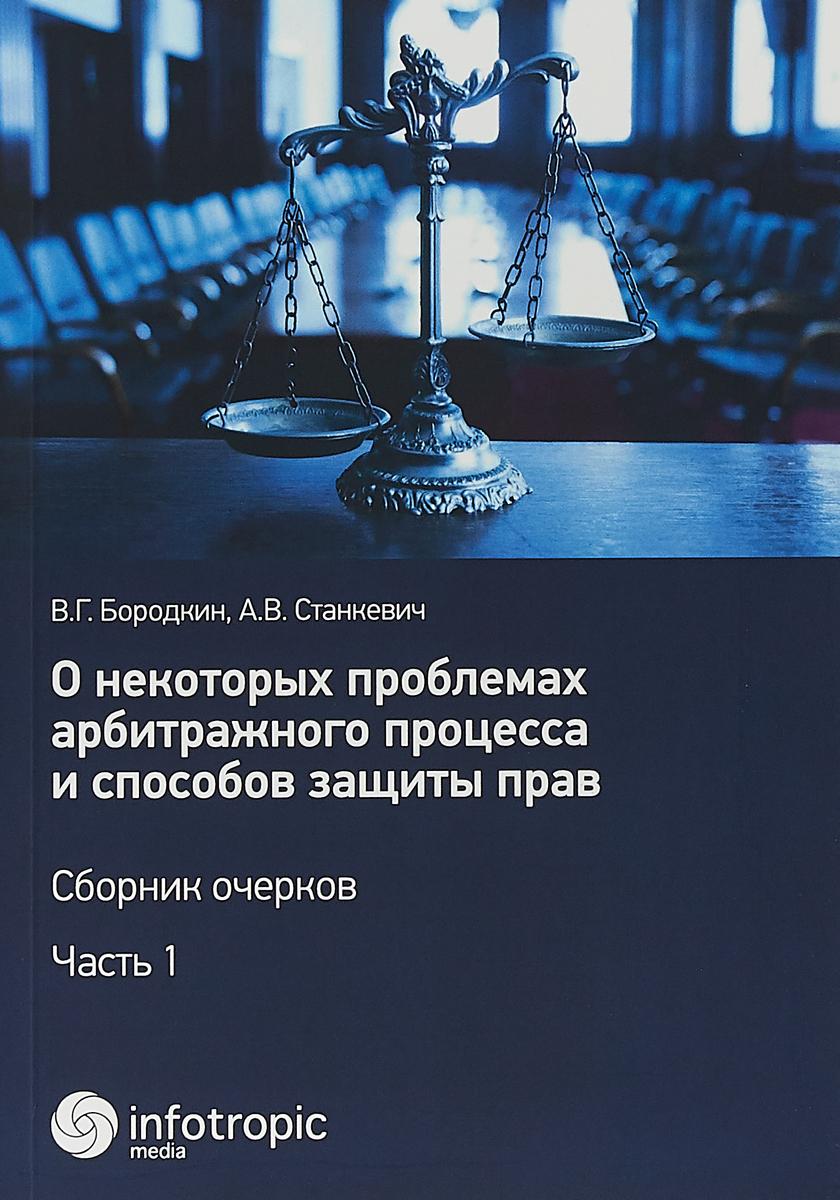 О некоторых проблемах арбитражного процесса и способов защиты прав. Сборник очерков. Ч. 1. Бородкин