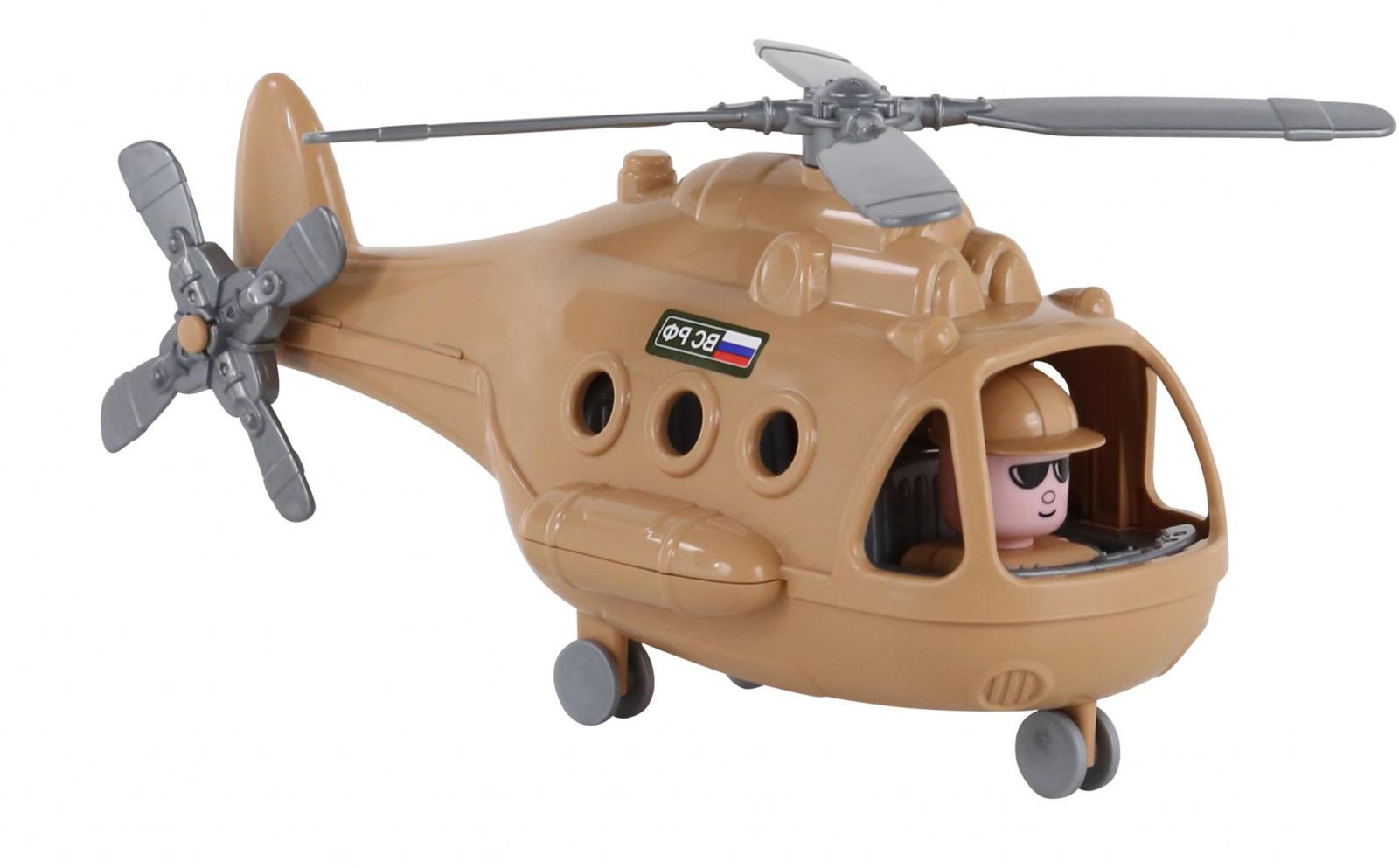 Вертолет военный Полесье Альфа-Сафари. 68774 конструкторы banbao defence force военный вертолет 29 элементов