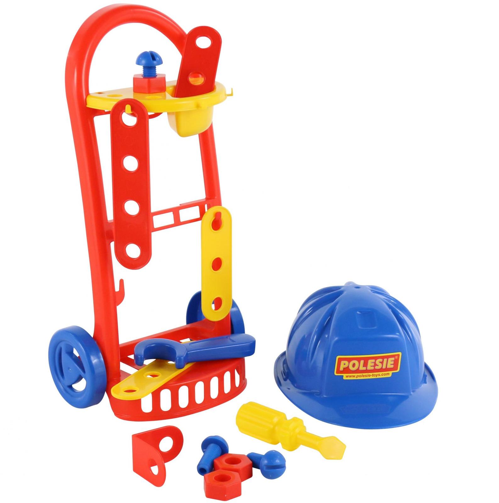 Набор Полесье Механик, 14 элементов. 69818 мастерская игрушечная полесье полесье набор инструментов механик