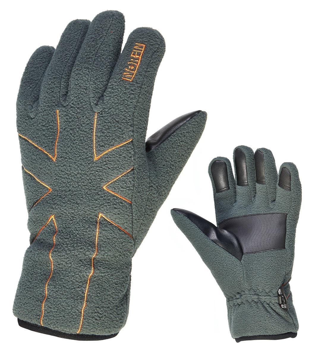 Перчатки для рыбалки мужские Norfin Shifter, цвет: серый. 703077-03. Размер L (9)