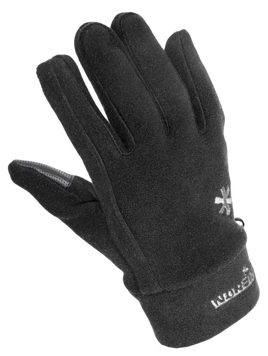 Перчатки для рыбалки мужские Norfin Sigma, цвет: черный. 703045-03. Размер L (9)