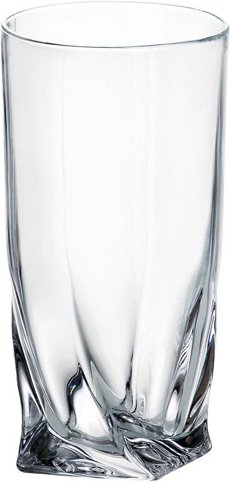 Набор стаканов для воды 350 мл QUADRO (6 шт)Все изделия изготавливаются из безопасного для окружающей среды материала - кристаллита. Повышенная прочность предметов позволяет хозяйкам мыть их в посудомоечных машинах