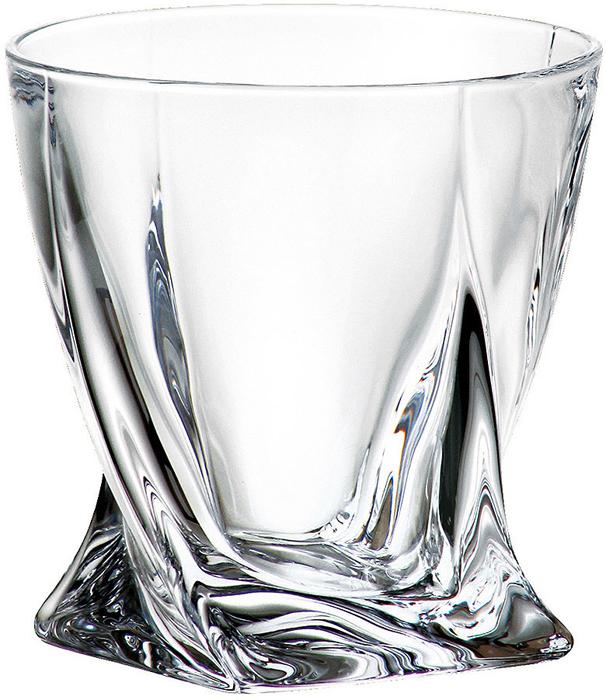 Набор стаканов для виски 340 мл QUADRO (6 шт)Все изделия изготавливаются из безопасного для окружающей среды материала - кристаллита. Повышенная прочность предметов позволяет хозяйкам мыть их в посудомоечных машинах