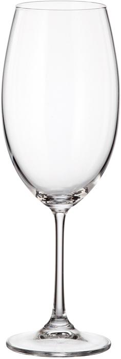 Набор бокалов для вина 510 мл MILVUS/BARBARA (6 шт)Все изделия изготавливаются из безопасного для окружающей среды материала - кристаллита. Повышенная прочность предметов позволяет хозяйкам мыть их в посудомоечных машинах