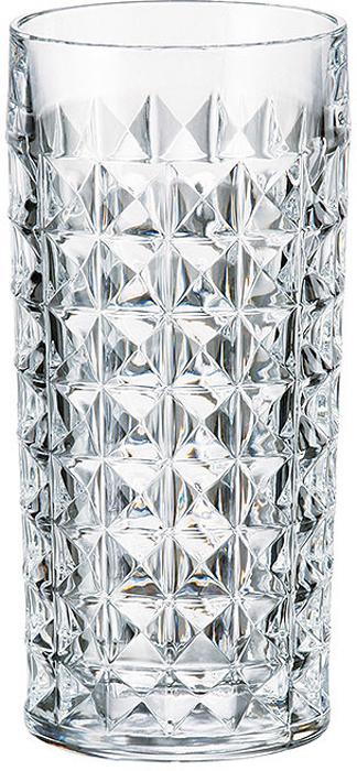 Набор стаканов для воды 300 мл DIAMOND (6 шт)Все изделия изготавливаются из безопасного для окружающей среды материала - кристаллита. Повышенная прочность предметов позволяет хозяйкам мыть их в посудомоечных машинах