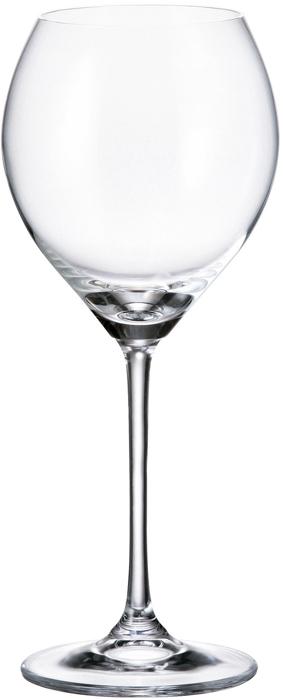 Набор бокалов для вина Crystalite Bohemia Carduelis/Cicilia, 390 мл, 6 шт набор бокалов для вина crystalite bohemia safari 190 мл 6 предметов в ассортименте