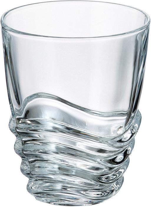 Набор стаканов 280 мл WAVE (6 шт)Все изделия изготавливаются из безопасного для окружающей среды материала - кристаллита. Повышенная прочность предметов позволяет хозяйкам мыть их в посудомоечных машинах