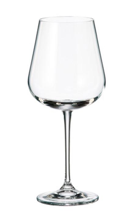Набор бокалов для вина Crystalite Bohemia Ardea/Amundsen, 540 мл, 6 шт набор бокалов для вина crystalite bohemia safari 190 мл 6 предметов в ассортименте