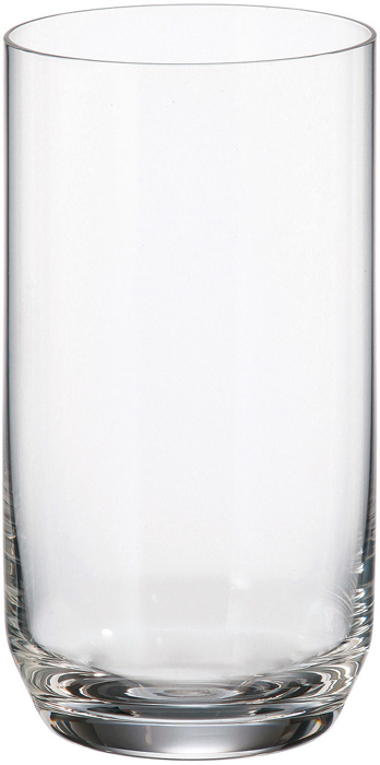 Набор стаканов для воды Crystalite Bohemia Ines, 400 мл, 6 шт набор одноразовых стаканов buffet biсolor цвет оранжевый желтый 200 мл 6 шт