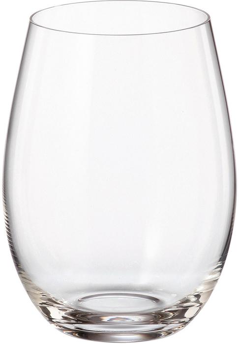 Набор стаканов для воды Crystalite Bohemia Mergus/Pollo, 560 мл, 6 шт набор одноразовых стаканов buffet biсolor цвет оранжевый желтый 200 мл 6 шт