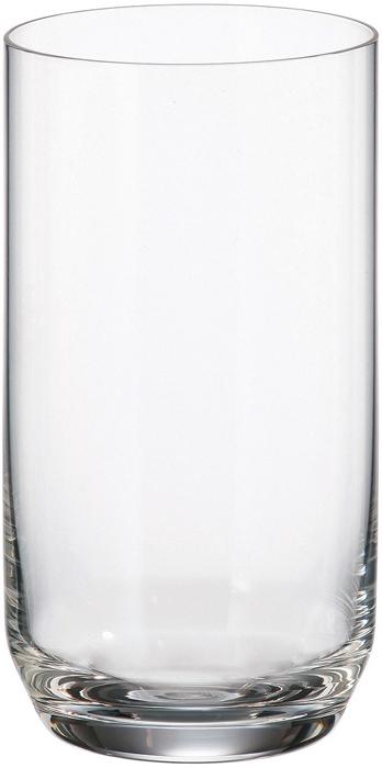 Набор стаканов для виски Crystalite Bohemia Ines, 400 мл, 6 шт набор одноразовых стаканов buffet biсolor цвет оранжевый желтый 200 мл 6 шт