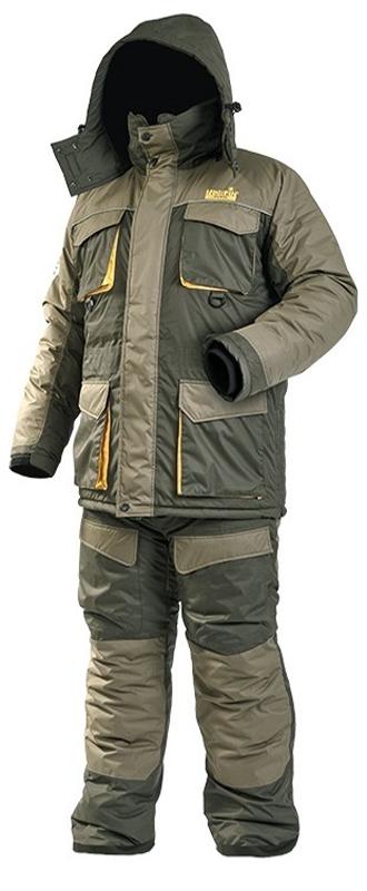 Костюм рыболовный мужской Norfin Active: куртка, брюки, цвет: хаки. 433004. Размер XL (56/58)