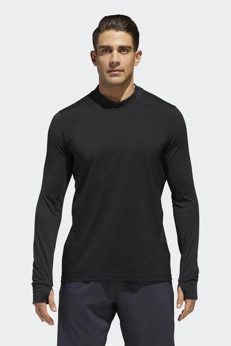 Футболка мужская Adidas Supernova Tee, цвет: черный. CY5810. Размер XL (56/58) футболка мужская adidas i am sport цвет серый bk2811 размер xl 56 58